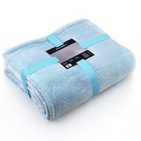 DecoKing Fluff takaró, türkiz, 150 x 200 cm