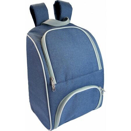 Chladicí batoh Jeans modrá, 41 x 28,5 x 19 cm
