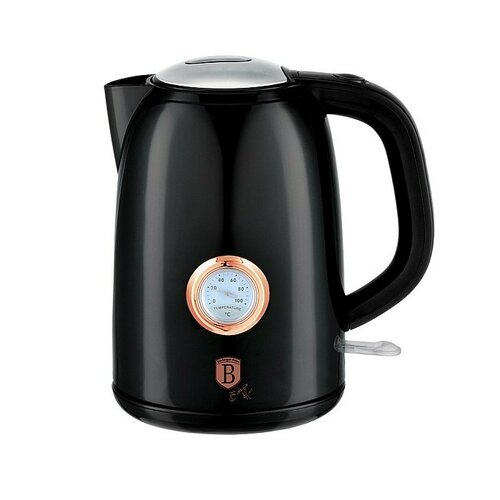 Berlinger Haus Rychlovarná konvice s termostatem Black Rose Collection, 1,7 l