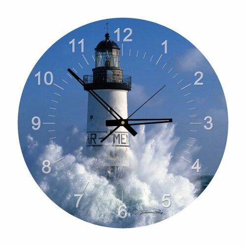 Art puzzle - Puzzle Plisson: Ar Men Lighthouse - 570 dielov