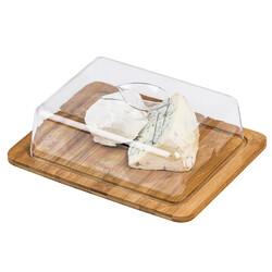Dóza na sýr s plastovým poklopem