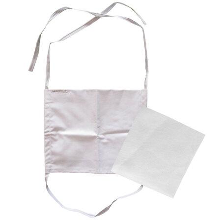 Ústne bavlnené rúško s vreckom na filter a šnúrkami na zaviazanie + 1x NANO filter