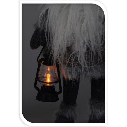 Evindal karácsonyi törpe, világosbarna, 51 cm