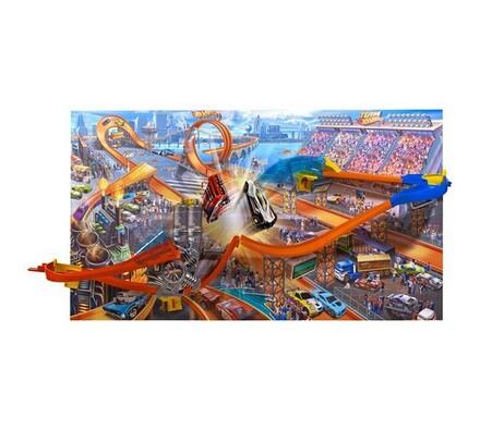 Jízda po zdi vzdušné bláznovství Hot Wheels, vícebarevná