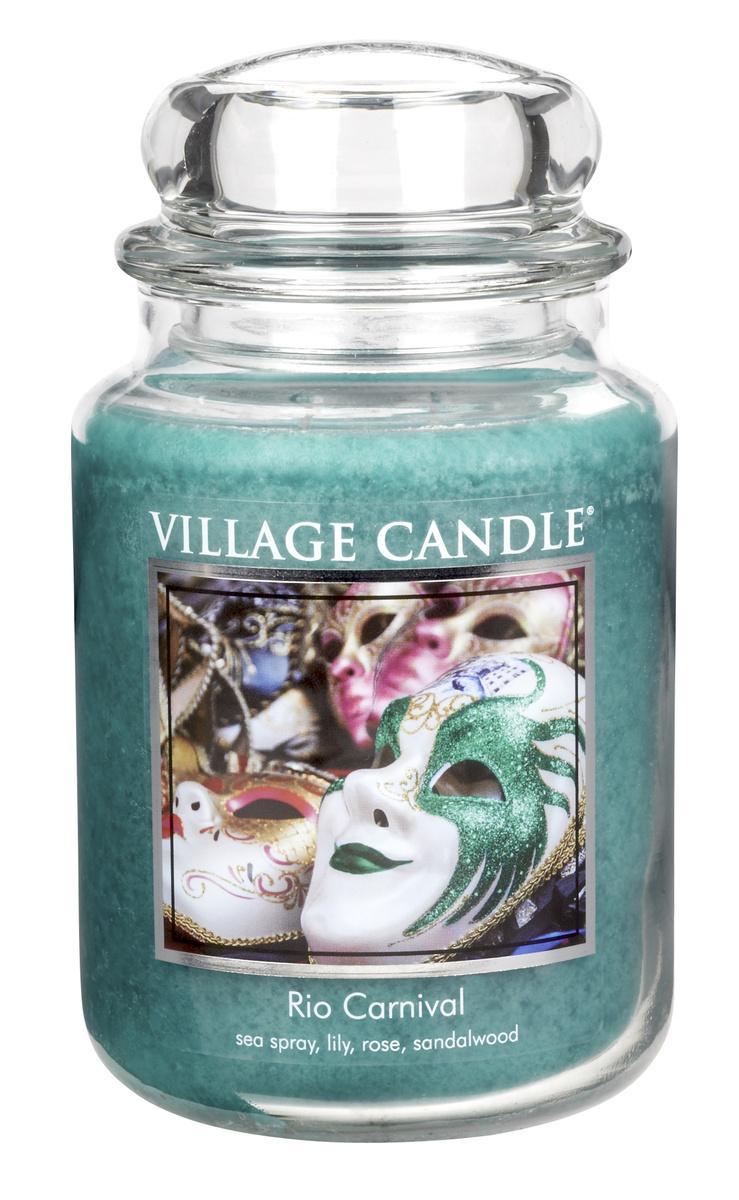 Village Candle Vonná svíčka ve skle, Karneval v Riu - Rio Carneval, 645 g, 645 g
