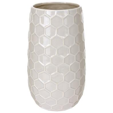 Keramická váza Honey, béžová