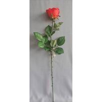 Sztuczna róża, czerwony, 69 cm