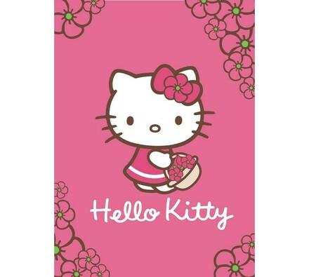Dětská deka Hello Kitty, 100 x 140 cm
