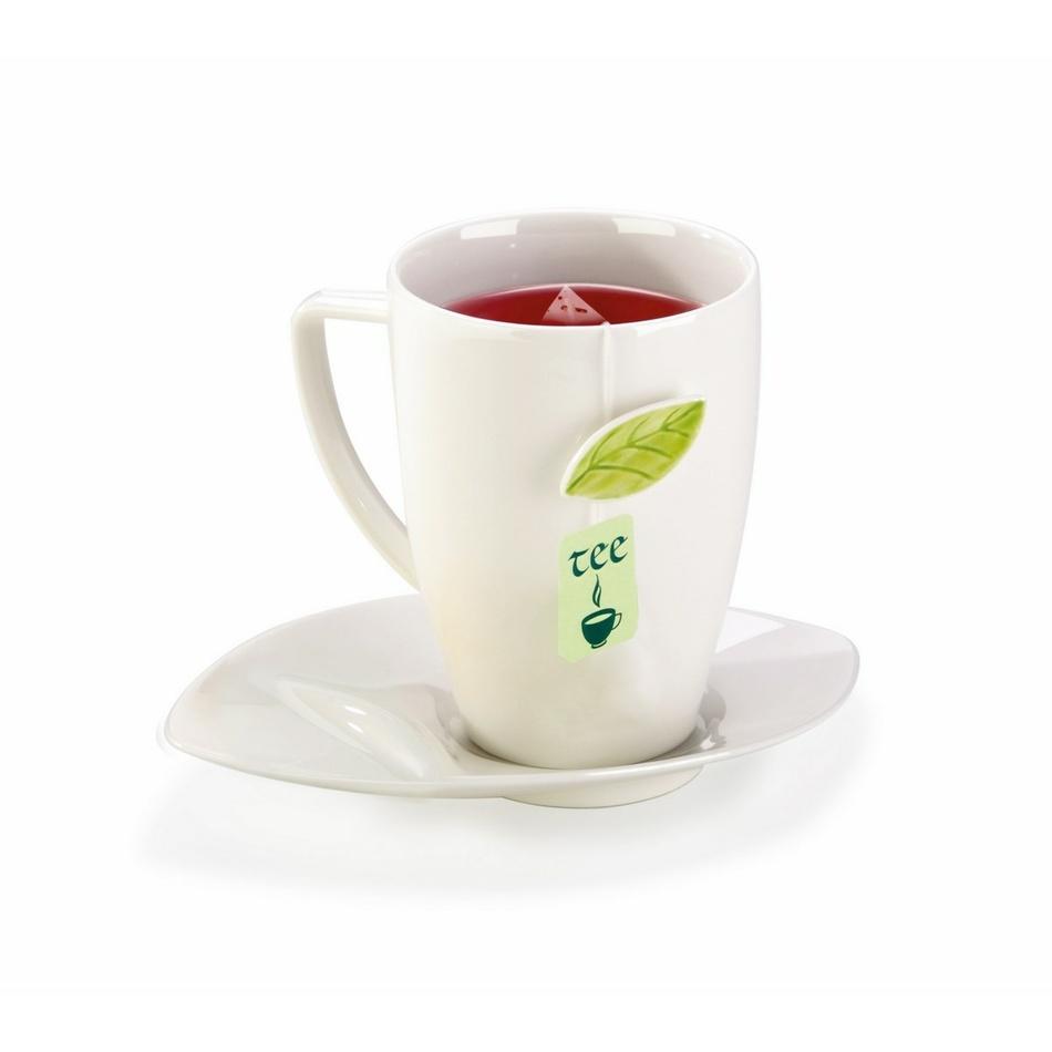 Tescoma Hrnček na čaj s tanierikom 400 ml,