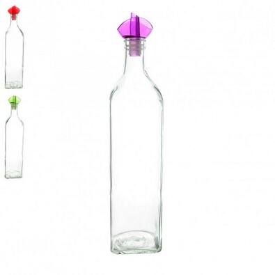 Skleněná láhev na ocet/olej 0,75 l