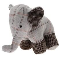Koopman Dveřní zarážka Elephant, světle šedá