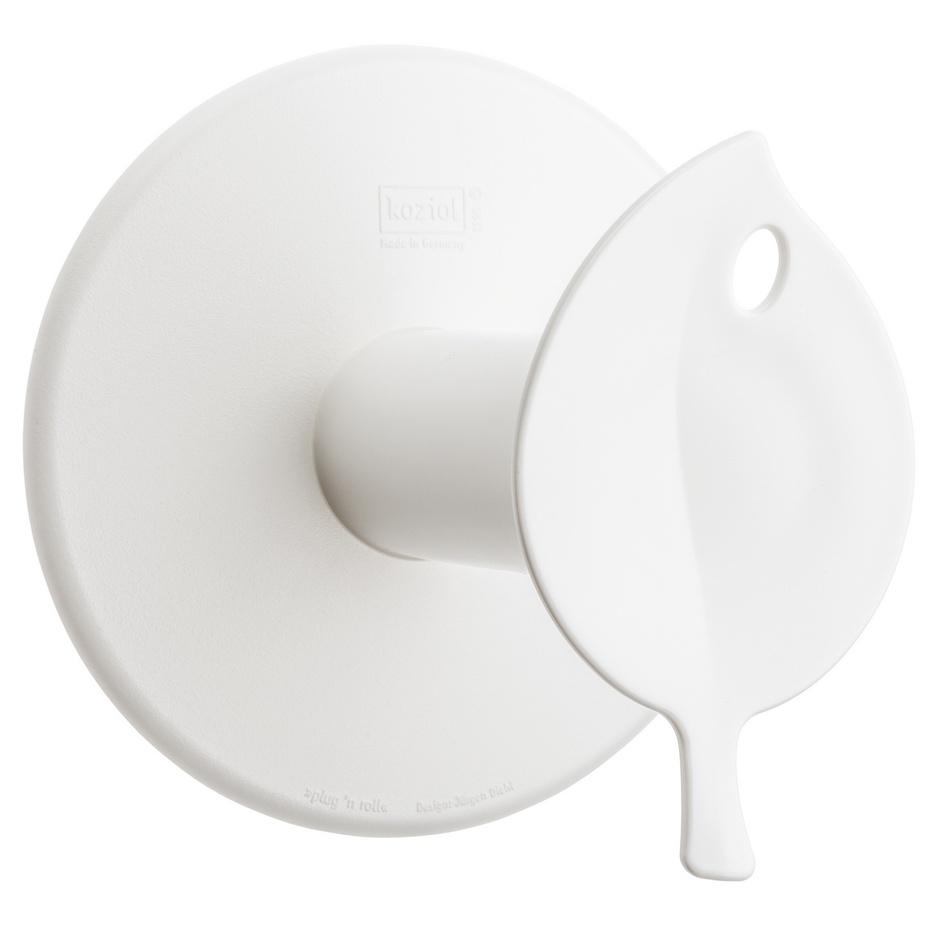 Koziol Držák na toaletní papír Sense, bílá