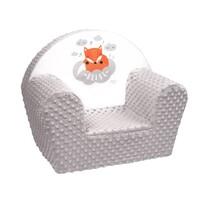 New Baby Rókás gyermek szék, szürke, 42 x 53 cm
