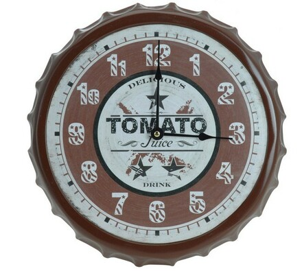 Nástěnné hodiny Tomato
