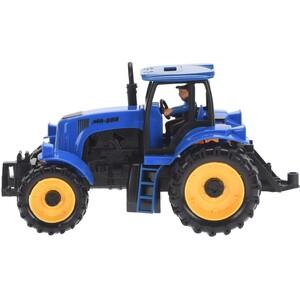 Traktor modrá, 20 cm