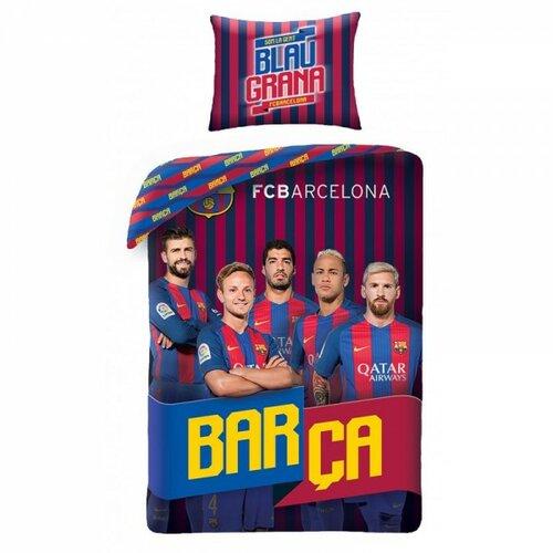 HALANTEX Fotbalové povlečení FC Barcelona Hráči 2017 BARCA, 140 x 200 cm, 70 x 90 cm