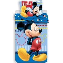 Mickey 004 gyermek pamut ágynemű, 140 x 200 cm, 70 x 90 cm