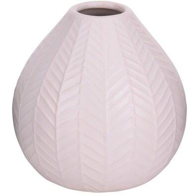 Montroi kerámia váza, rózsaszín, 11,3 cm