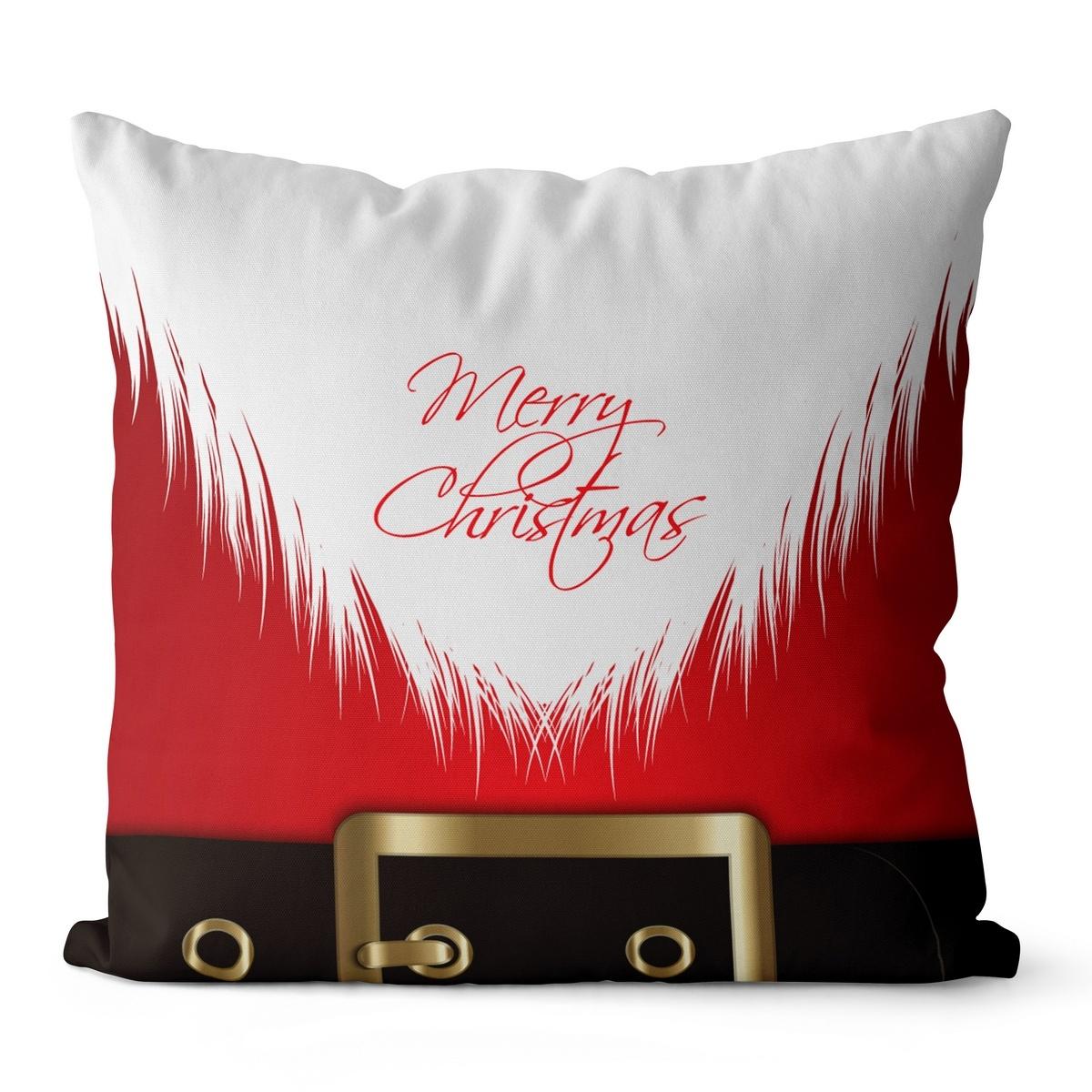 Domarex Vianočný vankúšik Santa Claus, 45 x 45 cm