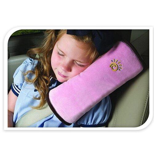 Chránič na bezpečnostní pás, růžová