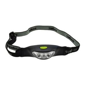 Solight Čelová LED svítilna, černá
