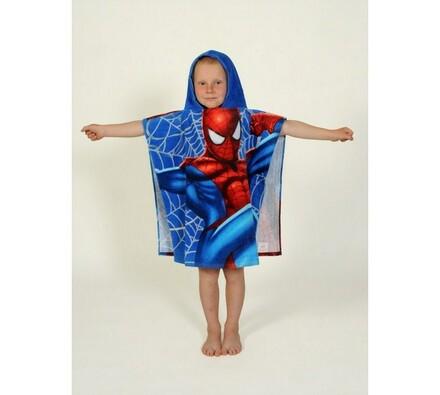 Pončo Spiderman, 60 x 120 cm