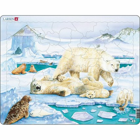 Larsen Puzzle Medve csalaád, 54 darab