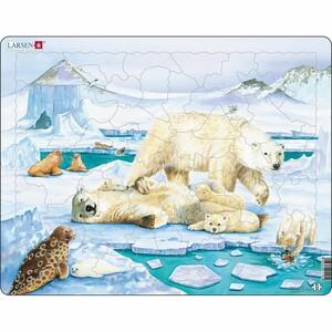 Larsen Puzzle Medvědí rodinka, 54 dílků