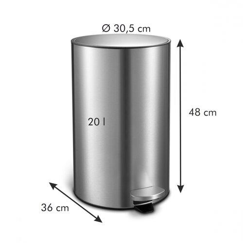 Tescoma Pedálový odpadkový kôš PRESIDENT, 20 l