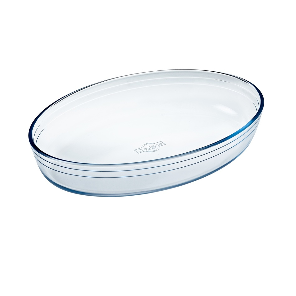 Ocuisine Pekáč sklenený oválny 30 x 21 x 6 cm
