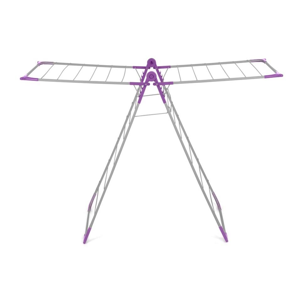 BONITA WONDERFOLD X-WING sušák na prádlo, purple, CD01-40SV