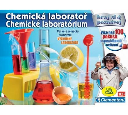 Hra Chemická laboratoř Albi