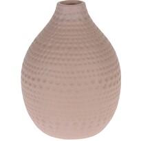 Koopman Vază ceramică Asuan roz, 17,5 cm