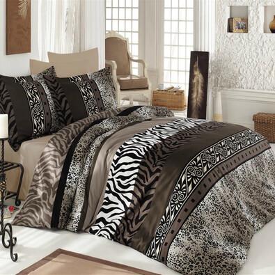 Saténové obliečky Safari, 140 x 220 cm, 70 x 90 cm