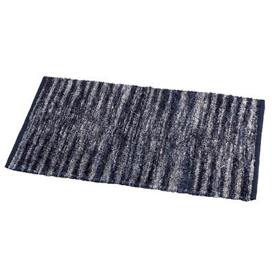 Kusový koberec Denver modrá, 50 x 80 cm