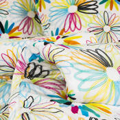 Lenjerie de pat micro-pluş Romaneto, 140 x 200 cm, 70 x 90 cm