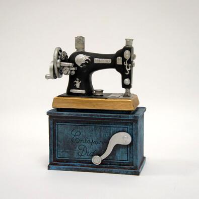 Šicí stroj, retro kasička