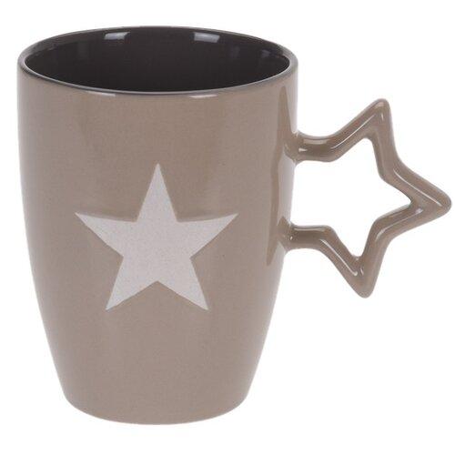 Keramický hrnek Star 330 ml, béžová