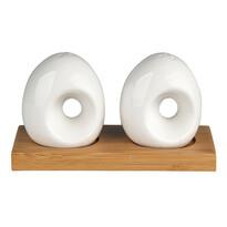 Altom Solniczka i pieprzniczka na podstawie bambusowej porcelana