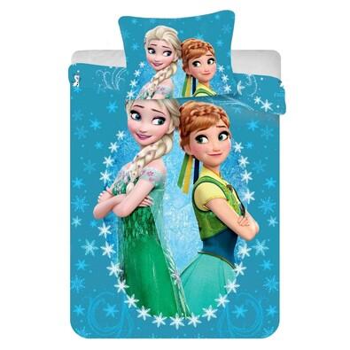 Dětské povlečení Ledové království Frozen 2016 micro, 140 x 200 cm, 70 x 90 cm