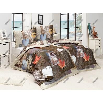 Matějovský Bavlněné povlečení Morgan, 220 x 210 cm, 2ks 70 x 90 cm