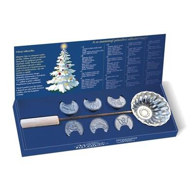 Tradiční vánoční lití olova, 7 ks