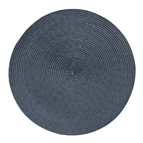 Prestieranie Deco okrúhle tmavomodrá, pr. 35 cm , sada 4 ks