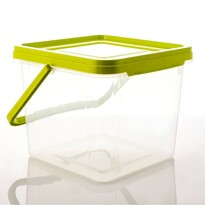 Aldo füles műanyag doboz, 9,1 l
