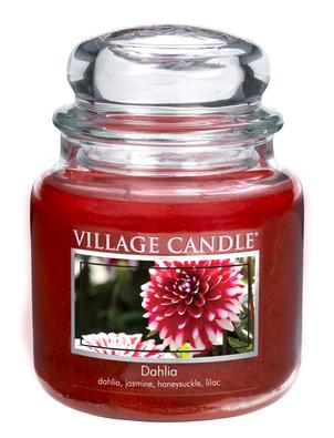 Village Candle Vonná svíčka - Dahlia, 397 g