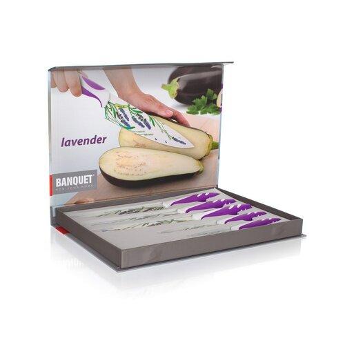 Banquet Lavender 5 részes késkészlet