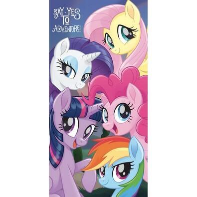 Osuška My Little Pony, 70 x 140 cm