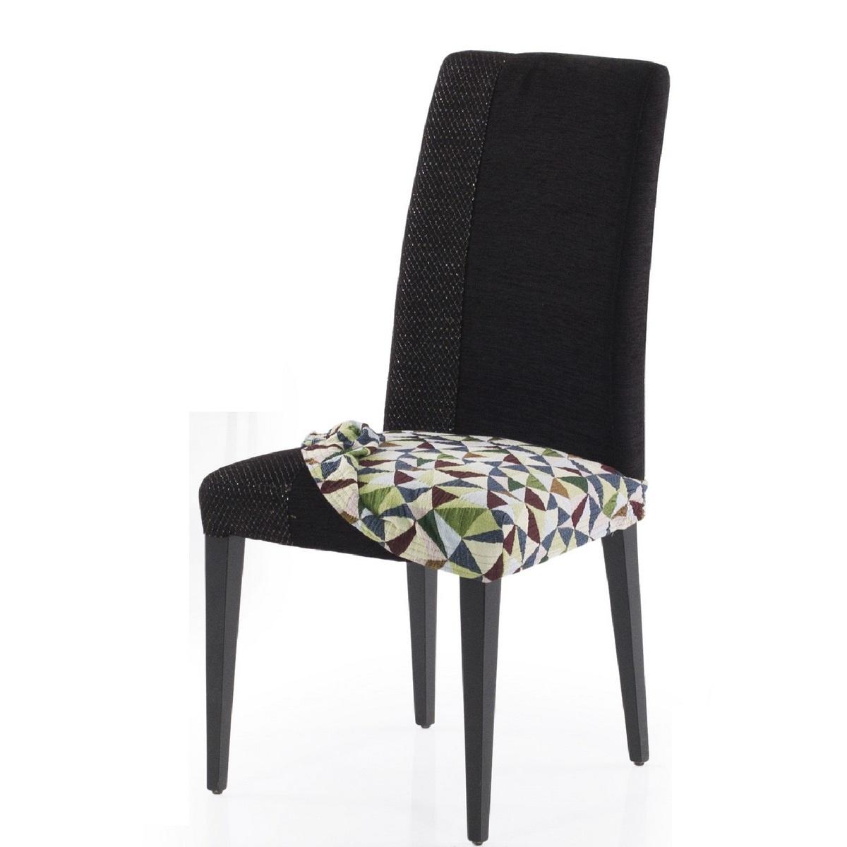 Forbyt Multielastický poťah na sedák na stoličku Baden Big, 50 x 60 cm, sada 2 ks