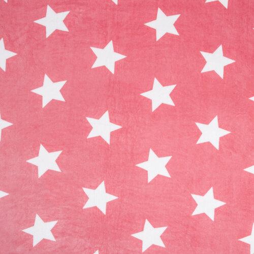 Deka Light sleep New Stars ružová, 150 x 200 cm