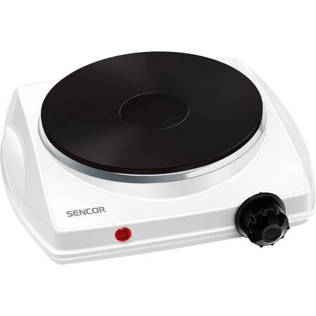 Sencor SCP 1500 elektrický jednoplatničkovývarič, biela